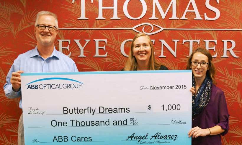 Thank you ABB Optical Group & Thomas Eye Center